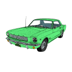 1966 FordMustang (copyright infoGuide Apps)