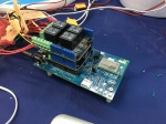 Intel Edison board powering everything