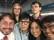 With Eric, John, and Team KeyMat